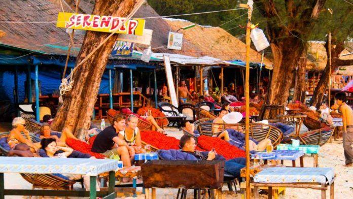 Bar na plaży