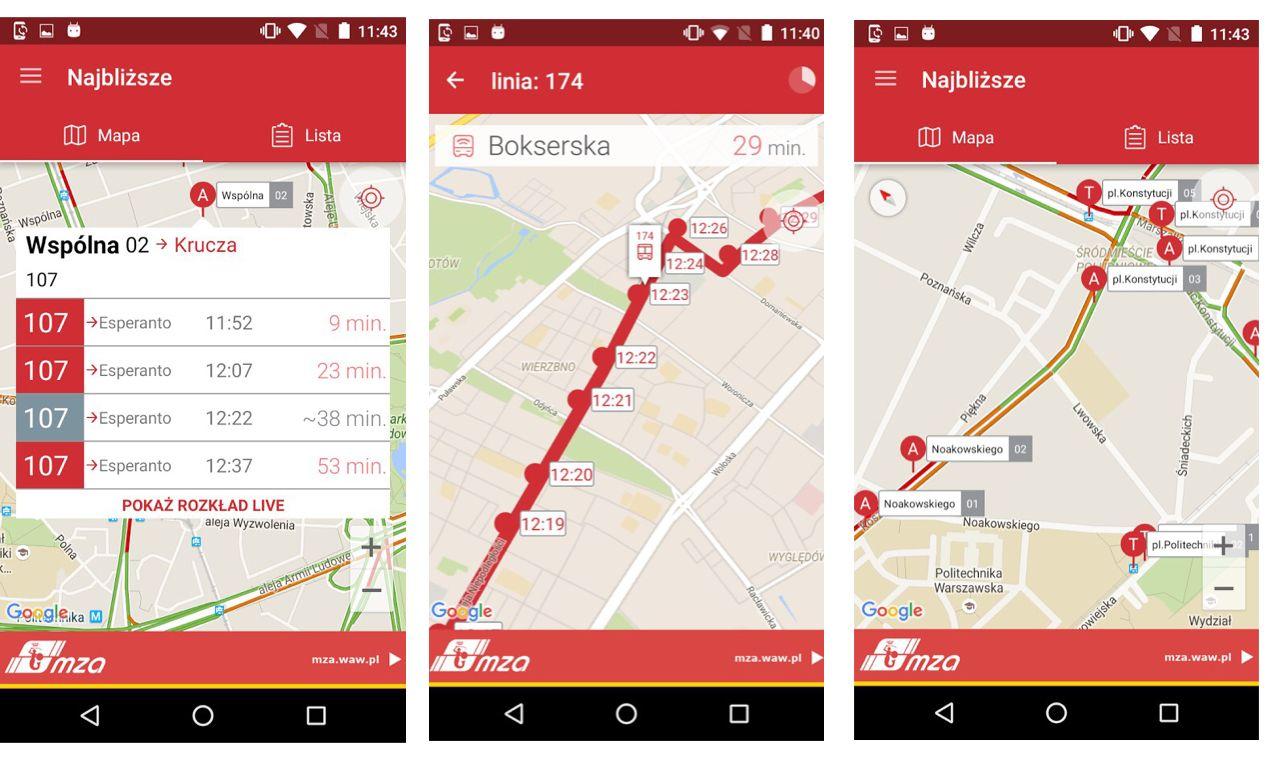 Screen z aplikacji