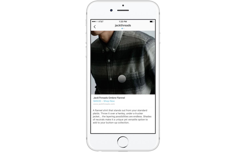 Ekran telefonu z włączonym instagramem