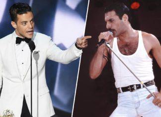 Dwóch mężczyzn, biały garnitur , drugi biały podkoszulek