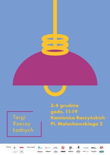 Plakat targi rzeczy ladnych HIRO