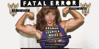 Fatal Error Plakat
