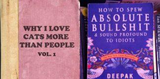 Okładki książek o dziwnych tytułach
