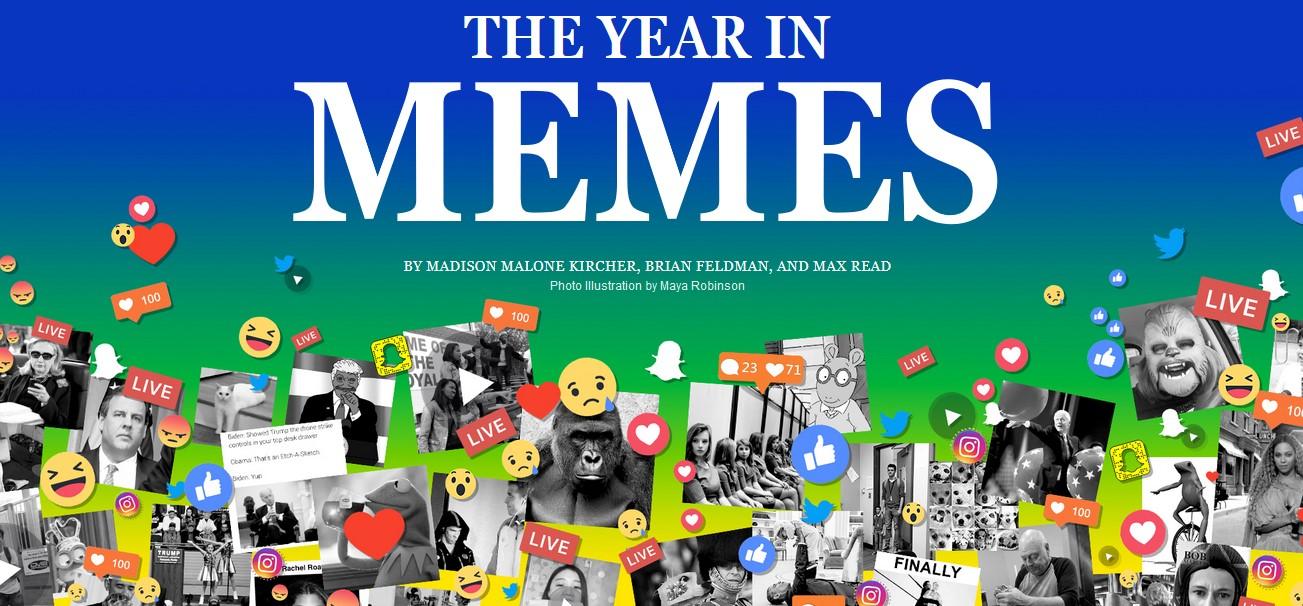 Kalendarz z memami od NY Magazine