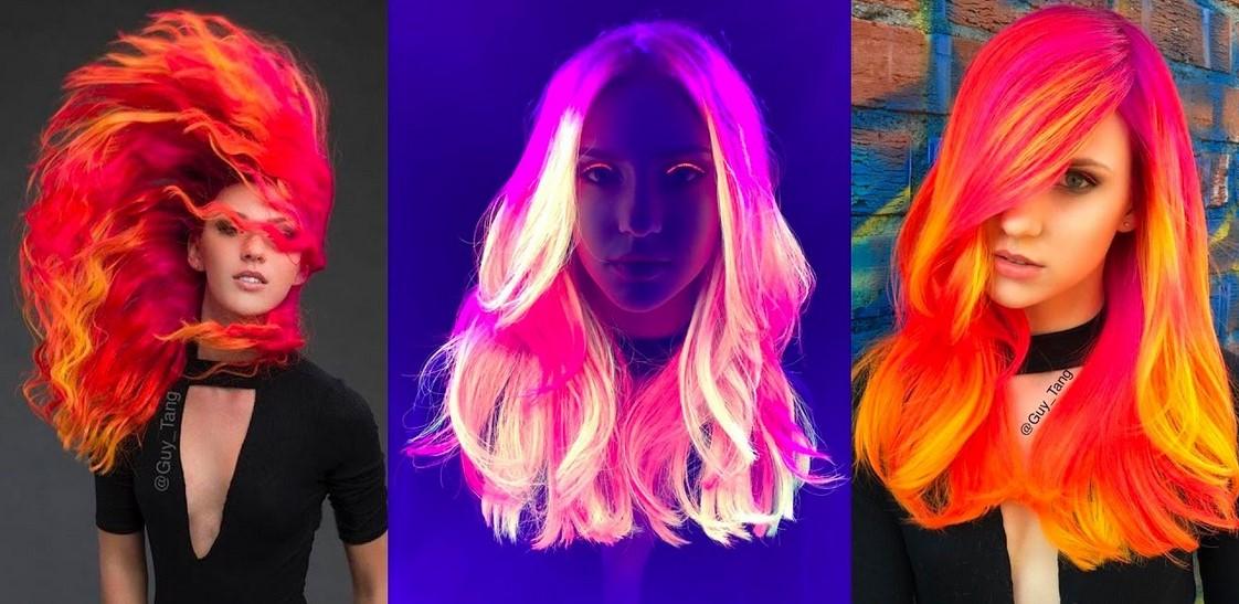 Czy Zwariujemy Na Punkcie Neonowych Włosów Magazyn Hiro