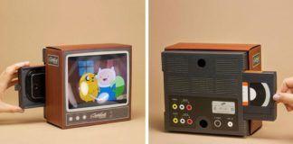 Telewizor z lat 90.
