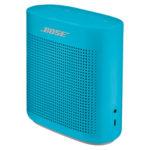 Niebieski głośnik firmy Bose