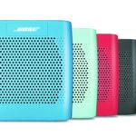 Kolorowe głośniki firmy Bose