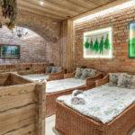 Drewniane łóżka przeznaczone dla strefy wellness & SPA