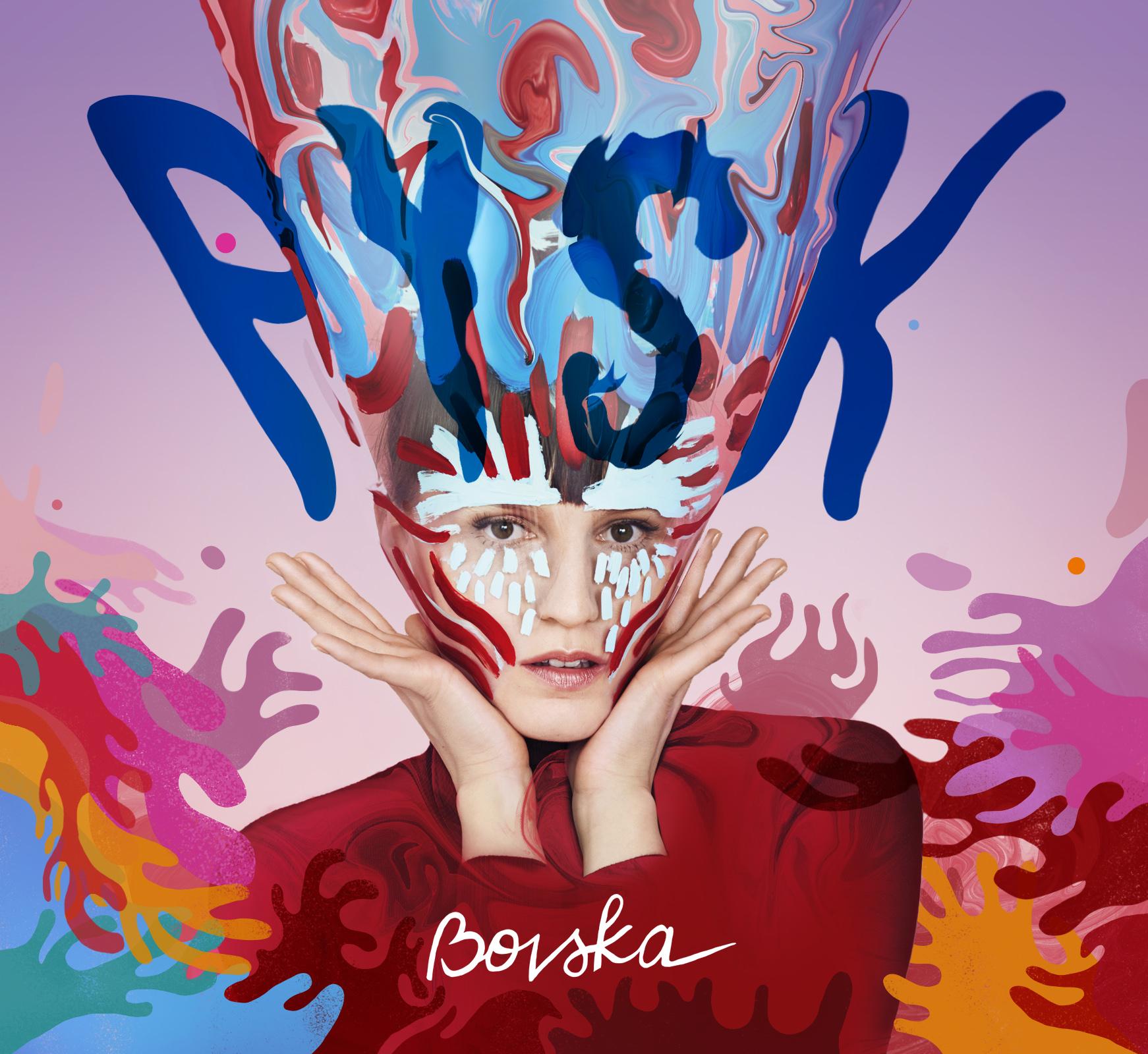 Okładka nowej płyty Bovskiej