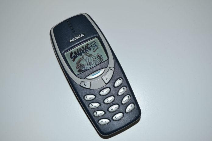 Stary telefon komórkowy