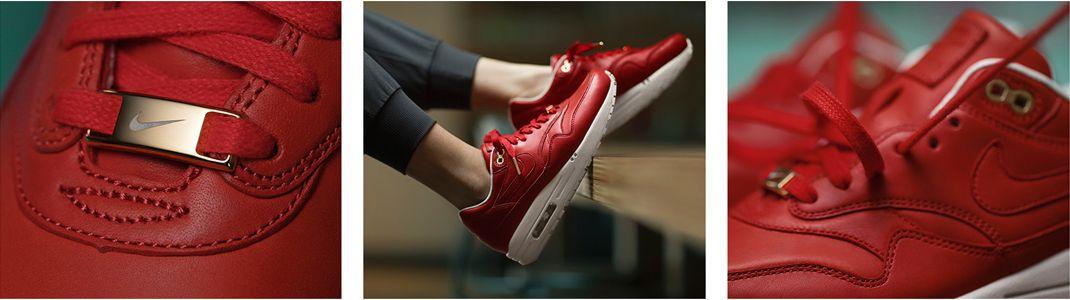 buty NIKE czerwone