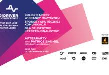 Plakat promujacy konferencję Audioriver