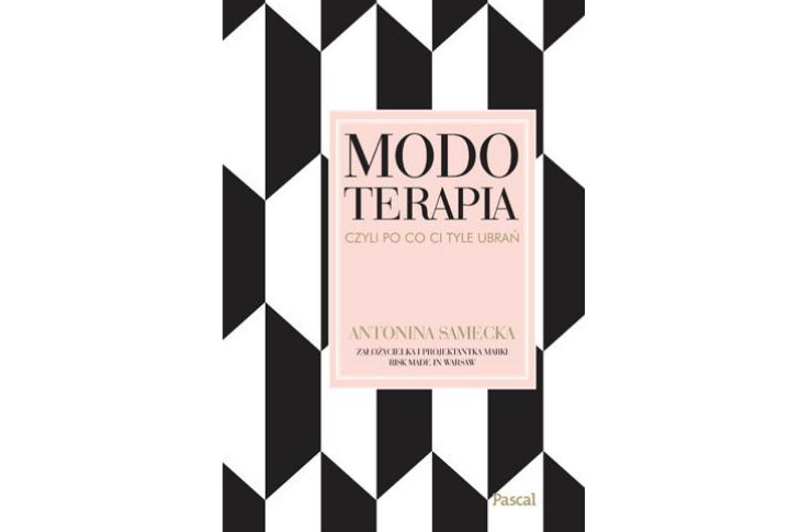 """Książka dla projektantów mody """"Modoterapia"""""""