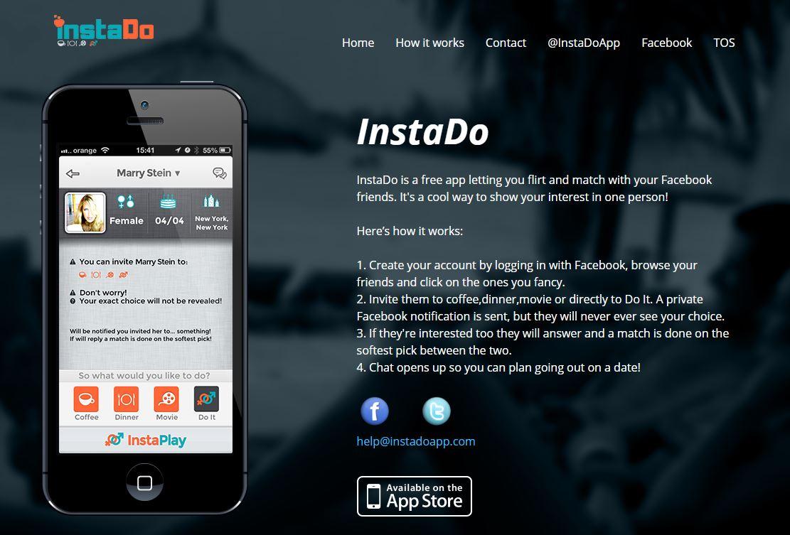Zrzut ze strony aplikacji InstaDo. Przewodnik opisujący jak korzystać z alikacji