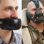 Dwóch mężczyzn z założonymi na usta maskami