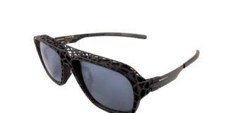 Okulary z aranżowanymi na ażurowe oprawkami