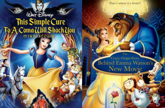 Okładki filmów Disneya ze zmienionymi tytułami