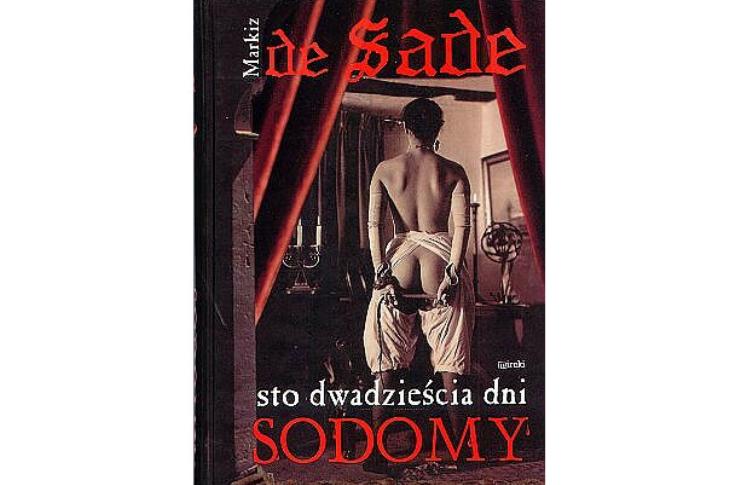 """Książka """"Sto dwadzieścia dni Sodomy"""""""