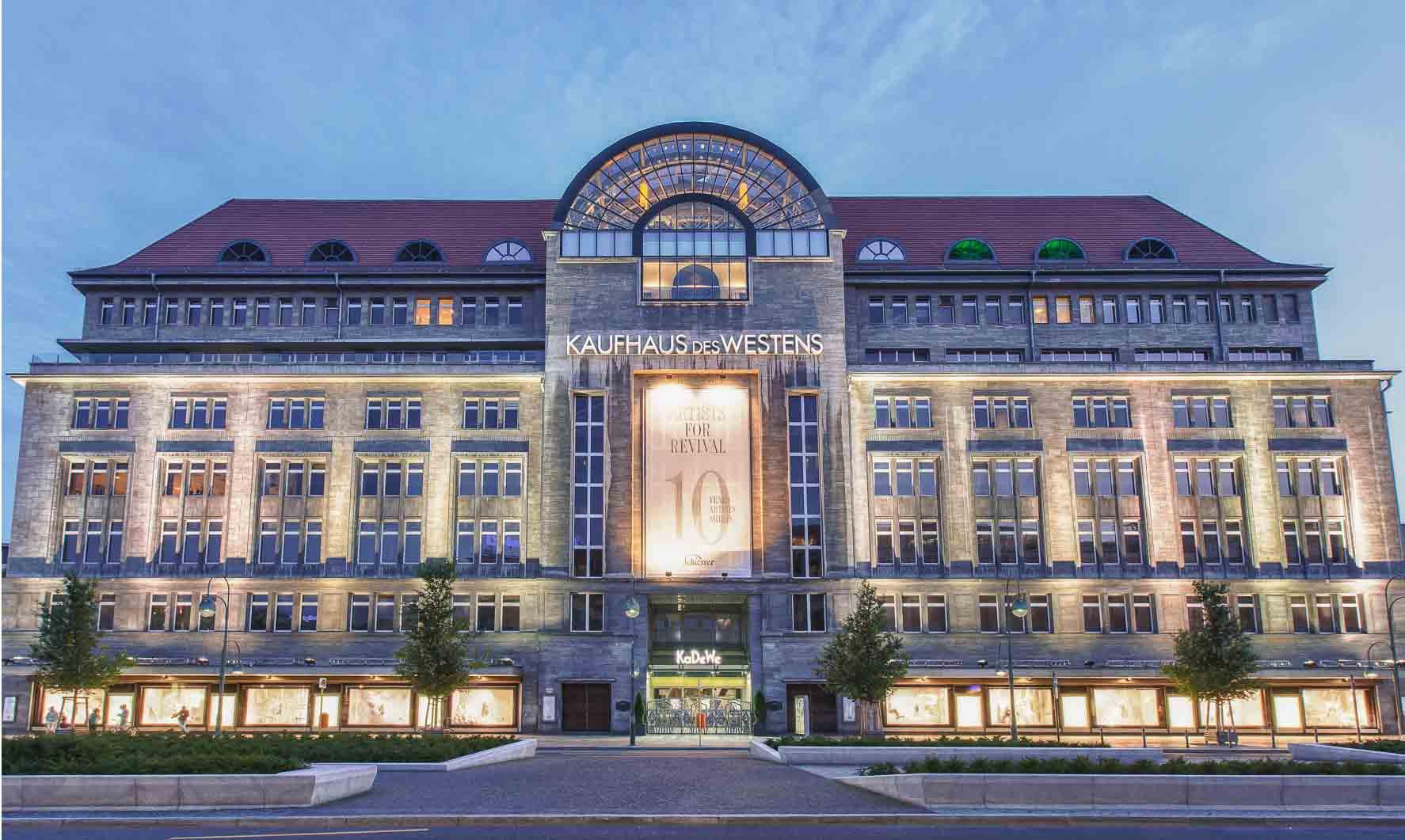 centrum handlowe w Berlinie KaDeWe