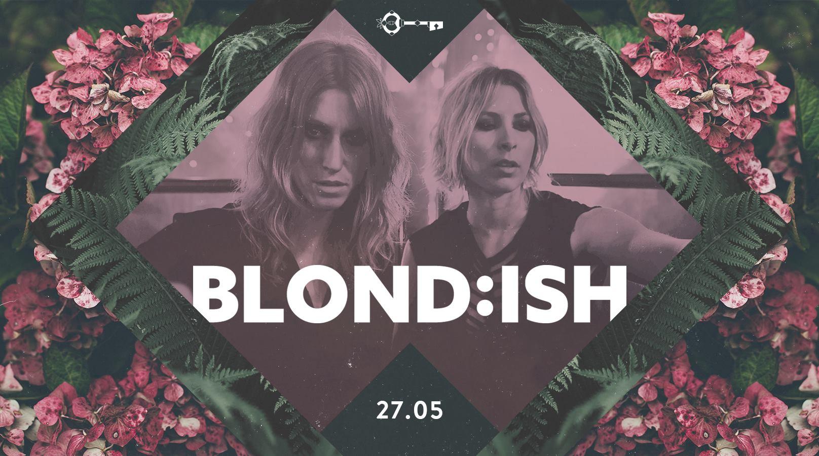 Baner zapowidający koncert Blondish