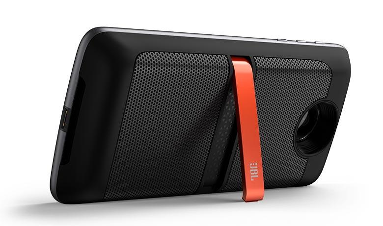głośnik JBL doczepiany do smartfona Moto Z