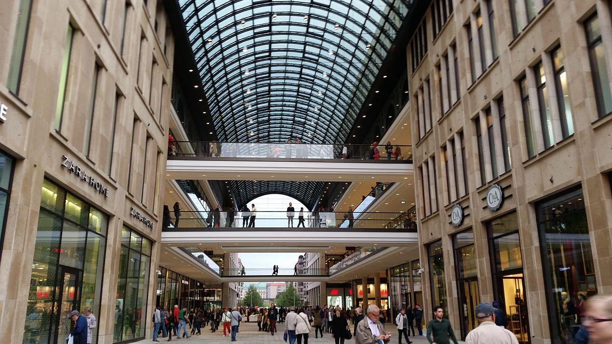 centrum handlowe w Berlinie