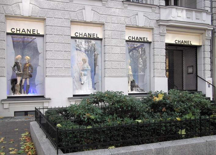 butik Chanel w Berlinie