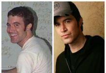 Obrazek to zestawione dwa zdjęcia tego samego mężczyzny