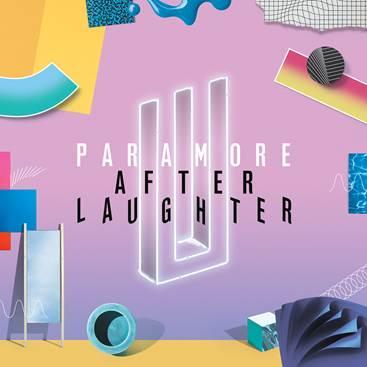 Okładka płyty zespołu Paramore