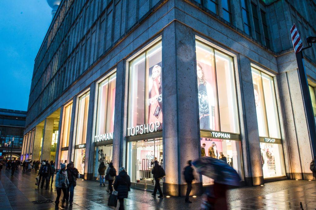 sklep Topshop w Berlinie