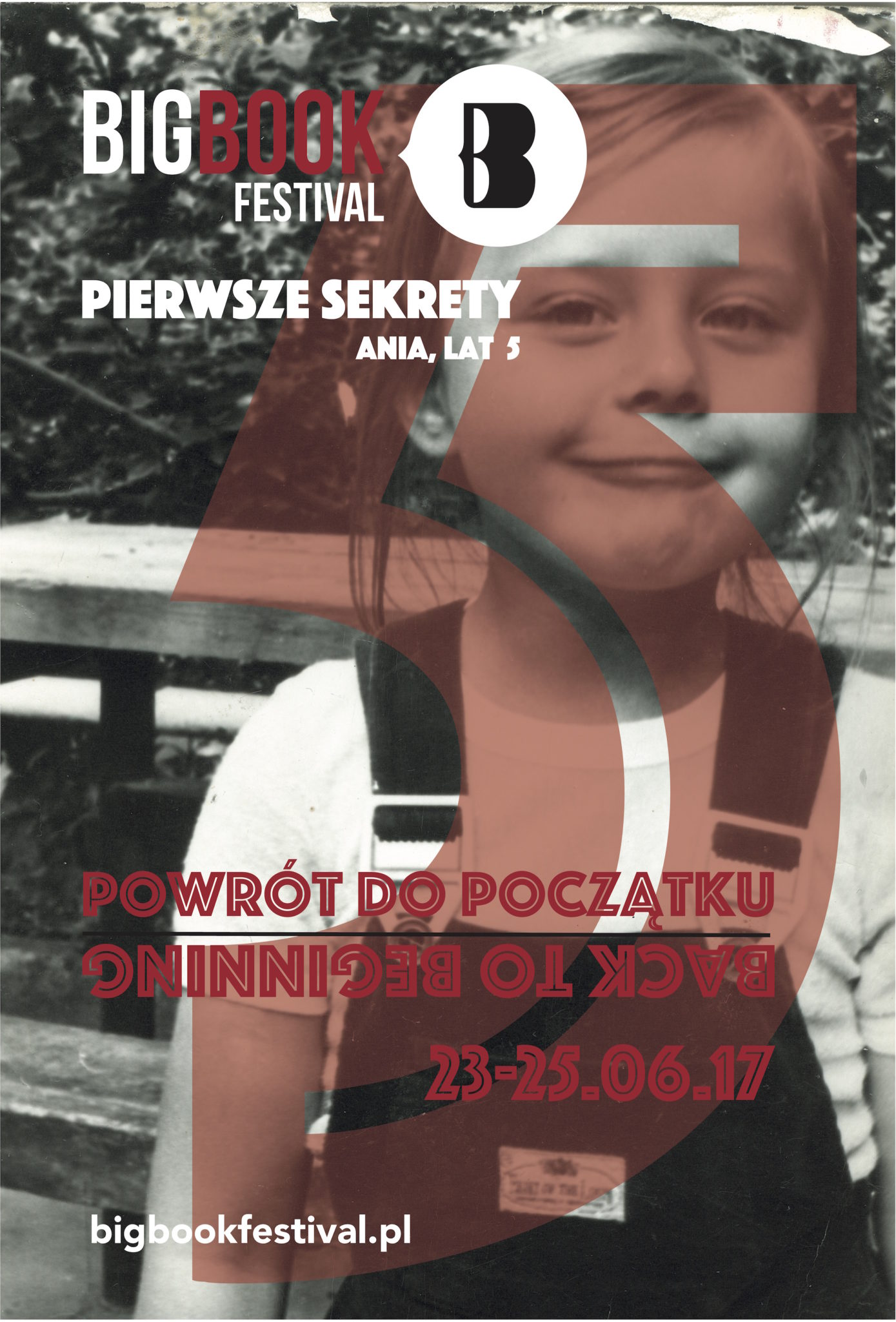 Plakat promująacy Big Book Festival