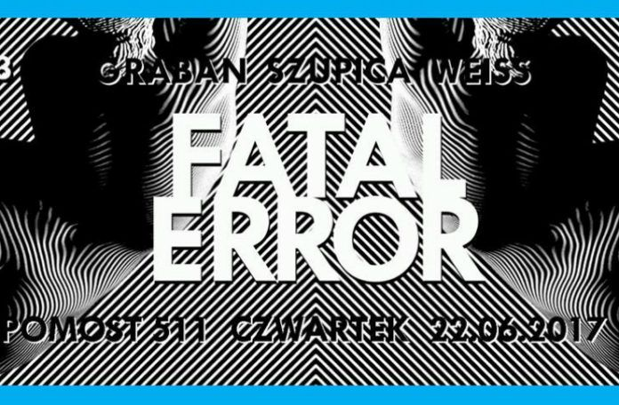 Plakat promujący trzecią edycję fatal error