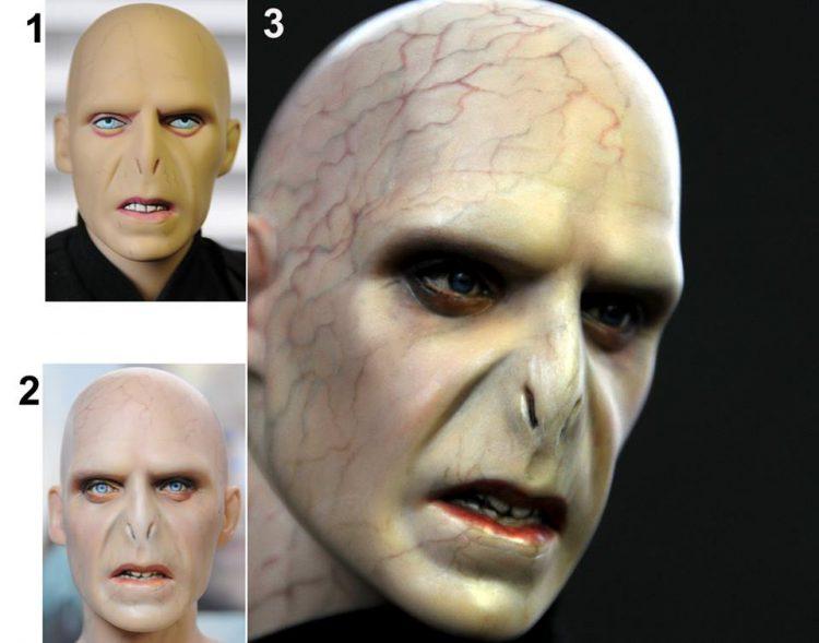 Lalka przedstawiająca Lorda Voldemorta