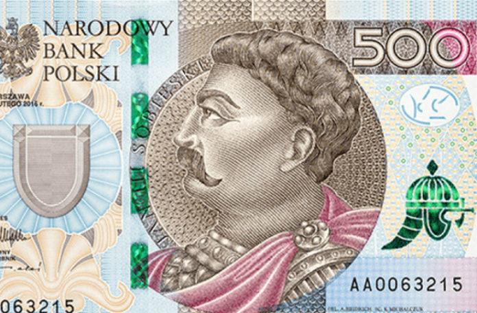 Banknot 500 zl