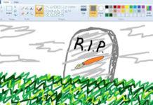 Obrazek narysowany w programie MS Paint