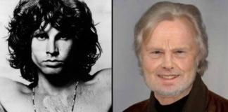 Po lewej czarno-białe zdjęcie przedstawiające mężczyznę z bujnymi włosami i gołą klatką piersiową, po prawej ten sam mężczyzna już z siwymi włosami