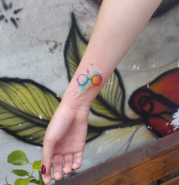Nie Dla Mugoli Tatuaże Ze świata Harryego Pottera