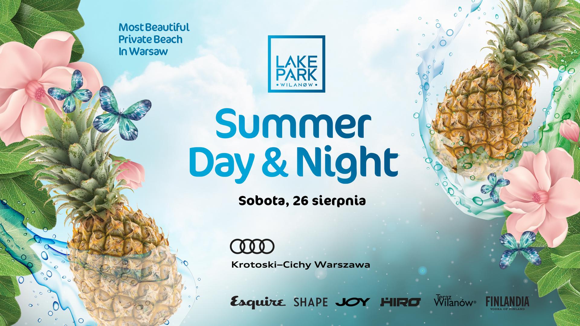 Plakat promujący Summer Day & Night w Wilanowie