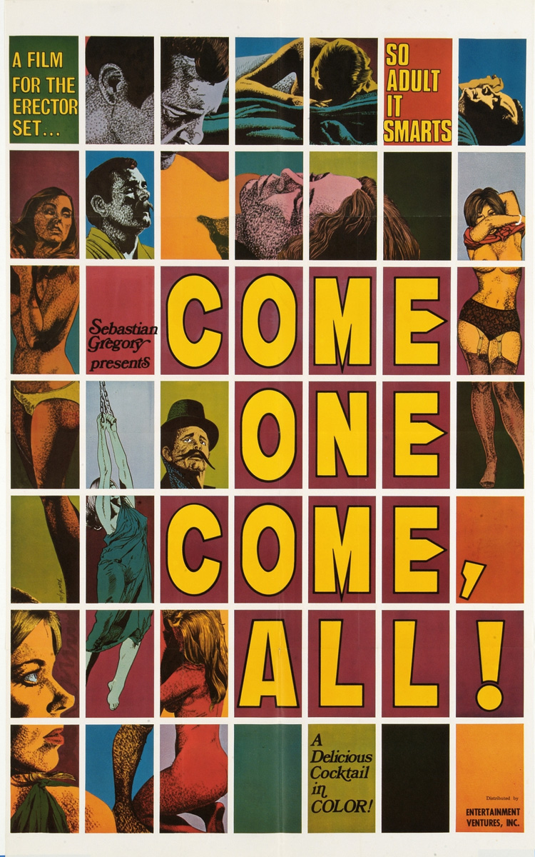 "plakat filmu ""Come One, Come All!"", 1970"