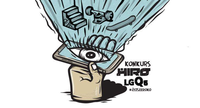 Grafika promująca konkurs LG x HIRO