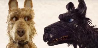 Animacja przedstawiająca dwa psy - jasnego i ciemnego