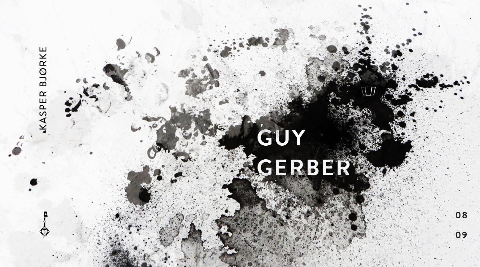 Plakat promujący Guy Gerber x Smolna