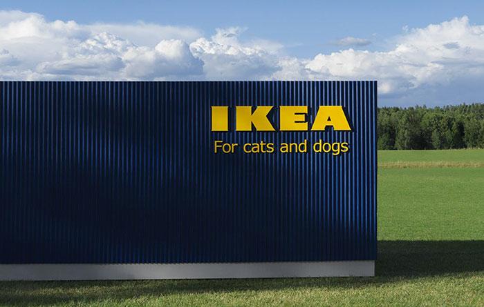 Budynek sklepu Ikea