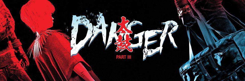 Plakat promujący koncert DANGER