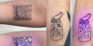 Tatuaże świecące w ciemnościach