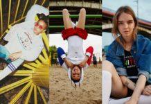 Trzy zdjęcia przedstawiające trzy dziewczyny