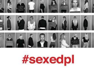 Plakat promujący akcję sexedpl