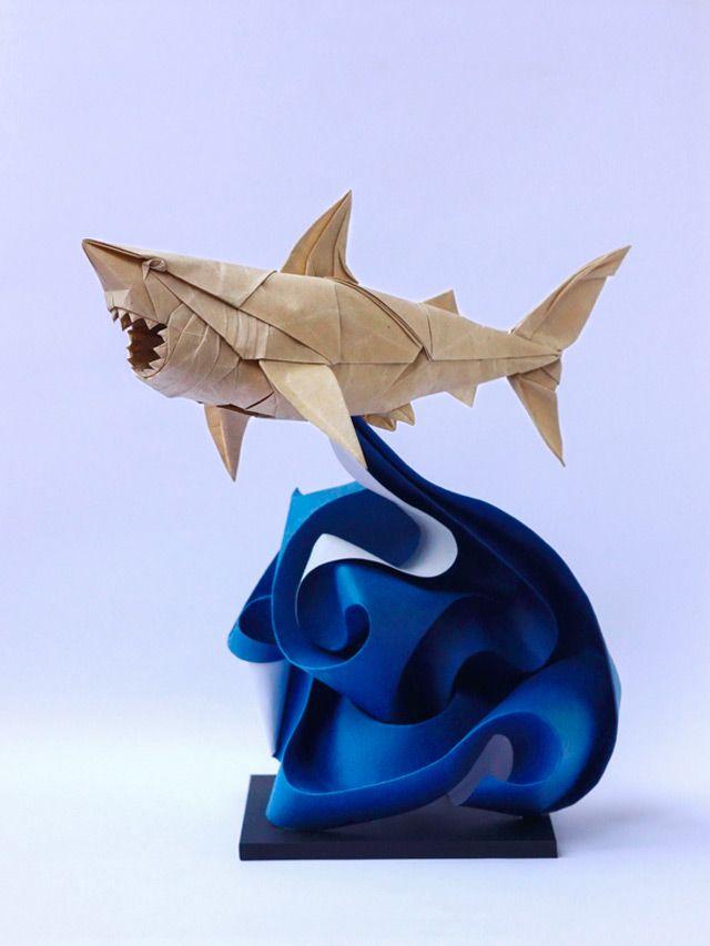 rekin z origami