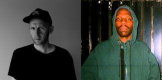 Zdjęcia dwóch mężczyzn: czarno-biała fotografia białoskórego mężczyzny i czarnoskórego mężczyzny
